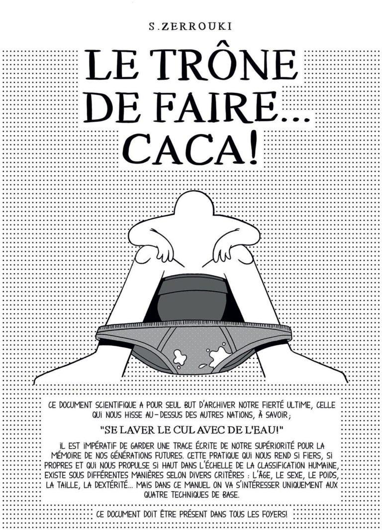 salim-zerrouki-bande-dessinée-algérie-samandal-Trone-de-fairecaca-couverture