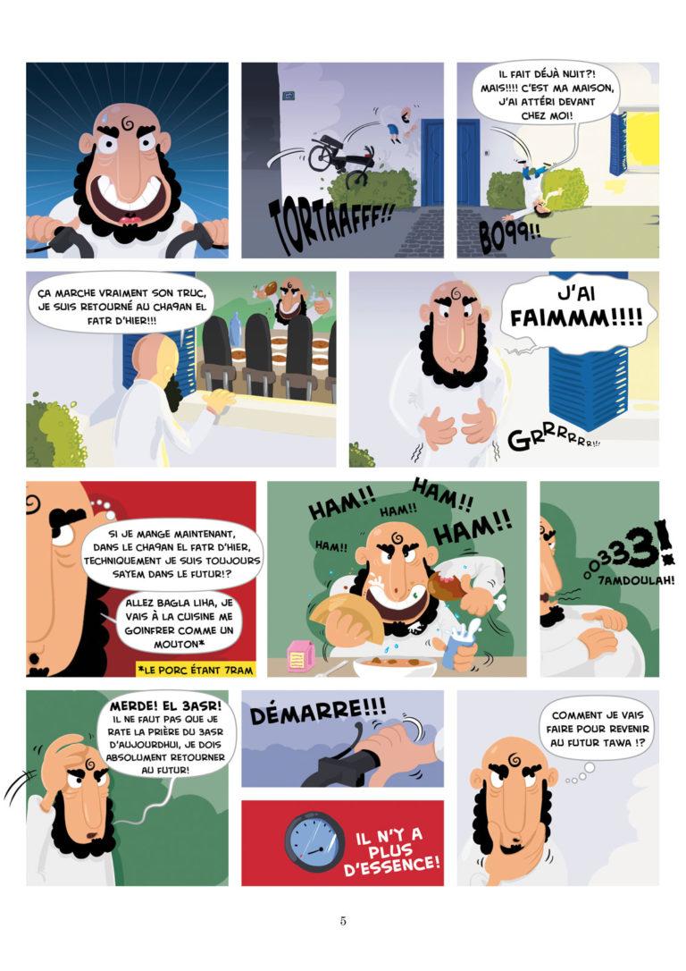 salim zerrouki bande dessinée yahia boulahia algérie 5