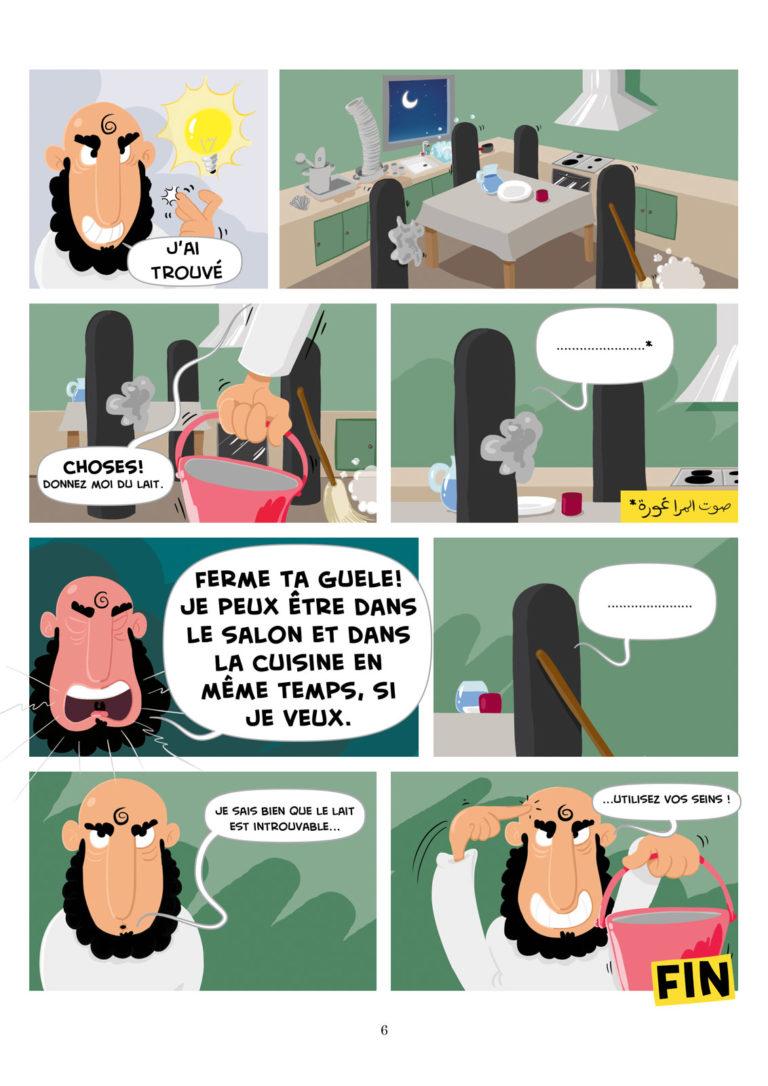 salim zerrouki bande dessinée yahia boulahia algérie 6
