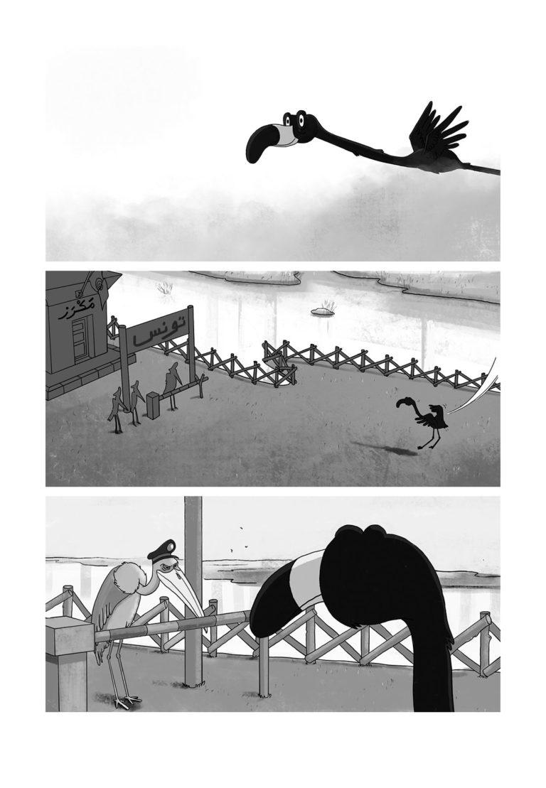 salim-zerrouki-bande-dessinee-algerie-lab-619-vie-rose-1