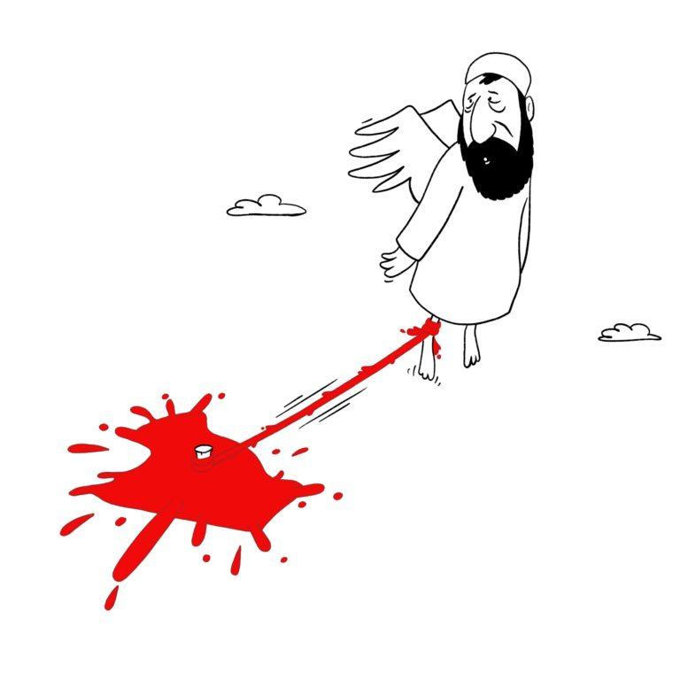 salim-zerrouki-caricature-hirak-algerie-abassi-madani