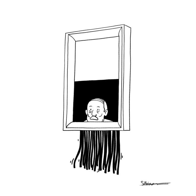 salim-zerrouki-caricature-hirak-algerie-bouteflika-bensflika