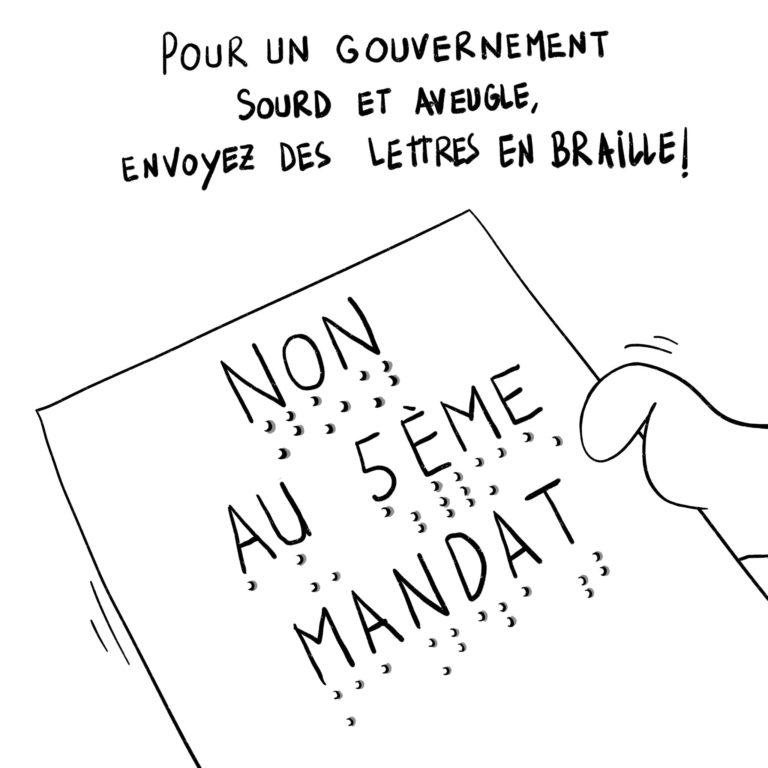 salim-zerrouki-caricature-hirak-algerie-braille