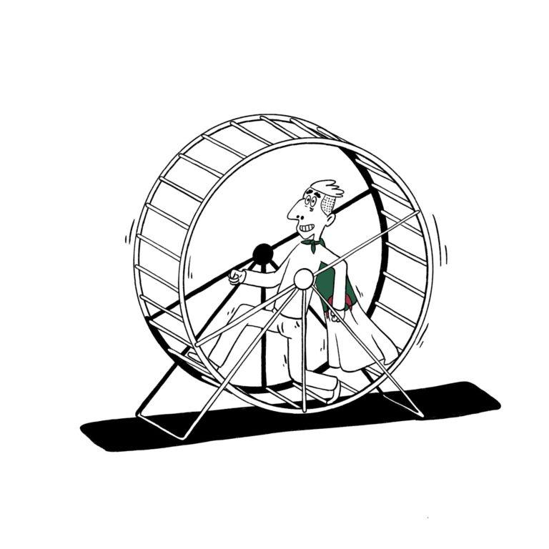 salim-zerrouki-caricature-hirak-algerie-hamster