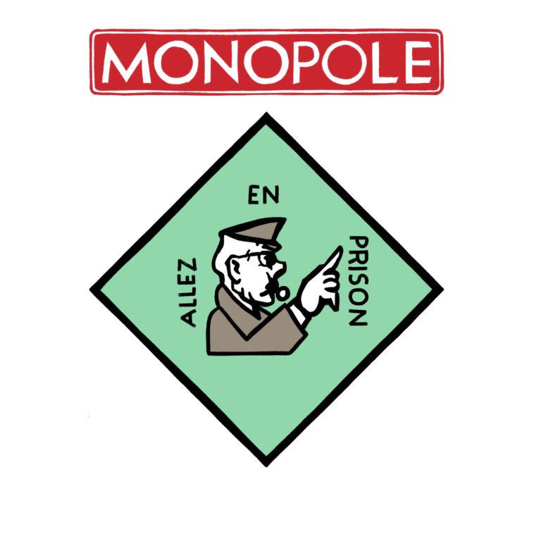salim-zerrouki-caricature-hirak-algerie-monopoly