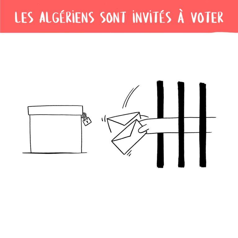 salim-zerrouki-caricature-hirak-algerie-prison-vote