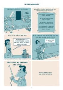 salim-zerrouki-comment- debarrasser-monde-meilleur-100-bled-bande-dessinee-algerie-tri-poubelles