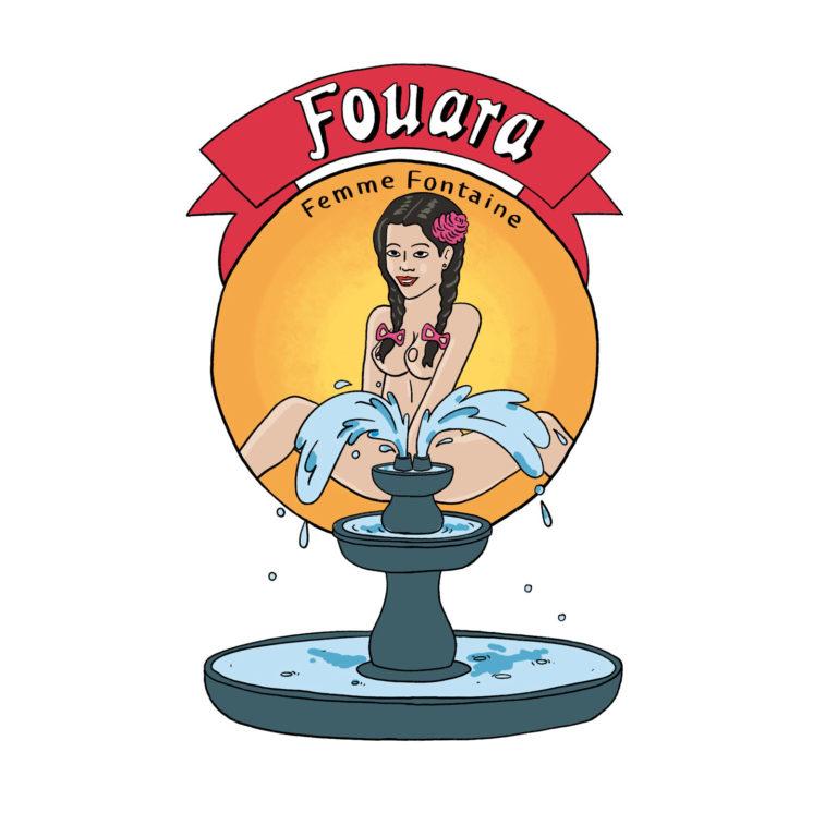 salim-zerrouki-illustration-algerie-nouara-fouara-femme-fontaine