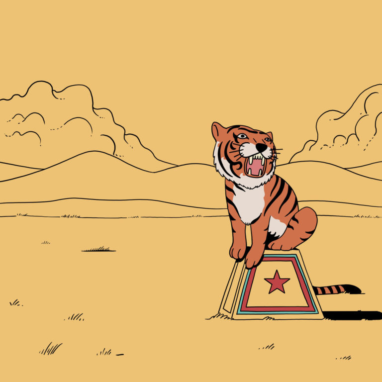 salim-zerrouki-illustration-algerie-tigre-cirque