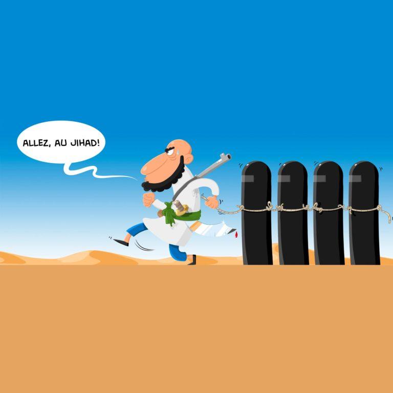 salim-zerrouki-illustration-algerie-yahia-boulahia-jihad