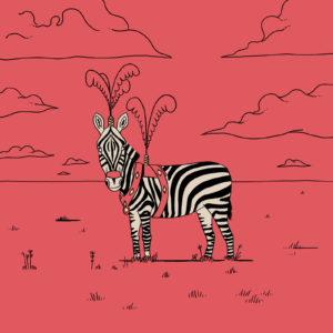salim-zerrouki-illustration-algerie-zebre-cirque